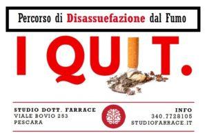 Smettere di fumare a Pescara e su Skype - dott. Farrace Psicologo Psicoterapeuta
